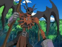 SkullSatamon makes the Rogues