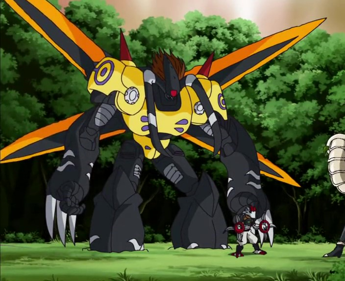 GrandisKuwagamon Honeybee Mode | Digimon Fusion Wiki | Fandom