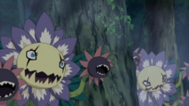 Two Blossomon in the fight