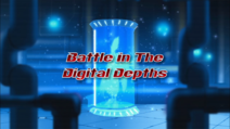Battle in the Digital Depths title