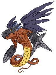 Dark Dragon Megadramon