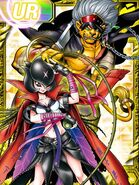 Bancho Lilimon and Bancho Leomon RE Collectors Card2