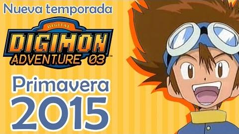 Trailer nueva temporada de Digimon Adventure Sub Español Primavera 2015