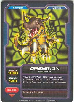 Greymon DM-080 (DC)