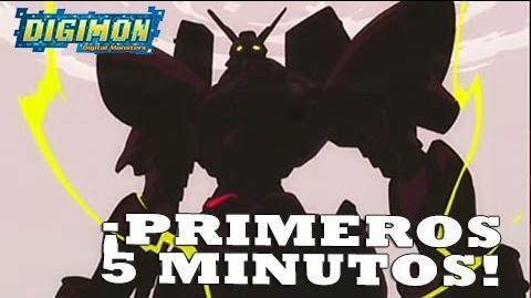 """Digimon Tri - Primeros 5 minutos del OVA """"Reencuentro"""" NUEVO"""
