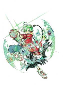 Digimon Universe - Appli Monsters (manga) (Promotional Art)