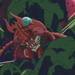 Am Ende kann Izzy dank MegaKabauterimon entkommen.