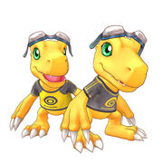 Agumon costume cs