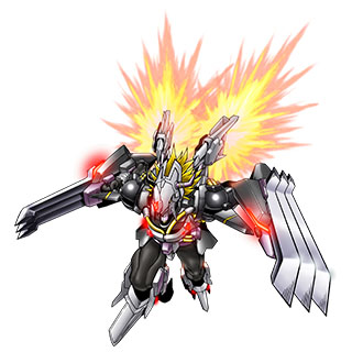 BlackWarGreymon X b