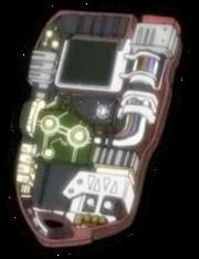 Innere eines D-scanner