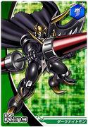 DarkKnightmon Crusader card