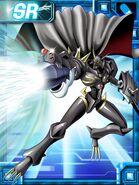 Omegamon zwart ex collectors card