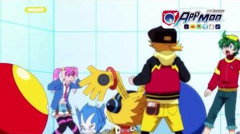 Digimon Appmon - 14 - Des casse-tetes partout dans la ville? Puzzlemon est devenu fou! PV