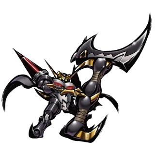 SkullKnightmon Mighty Axe Mode b
