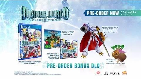 Digimon World Next Order - Story Trailer PS4