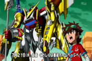 Shoutmon X7 y taiki