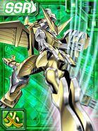 Shoutmon DX Collectors EX Card