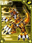 Growmon orange collectors card