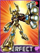 MetalliferKuwagamon Collectors Perfect Card