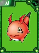Gigimon collectors card