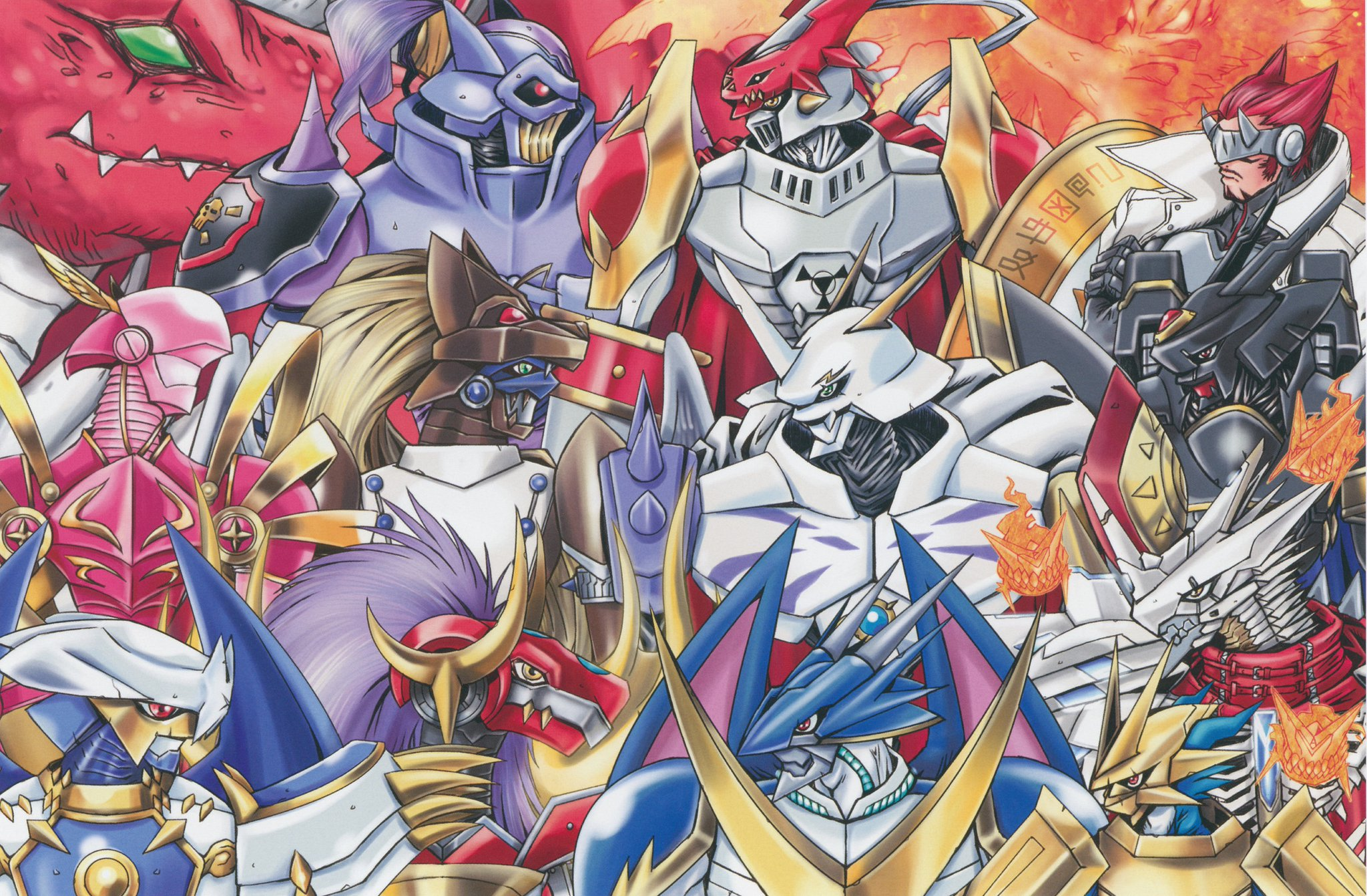 Digimon Seven Great Demon Lords Vs Royal Knights Spacebattles Forums Gallery jesmon is a holy knight digimon. great demon lords vs royal knights