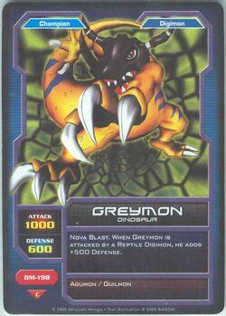 Greymon DM-198 (DC)