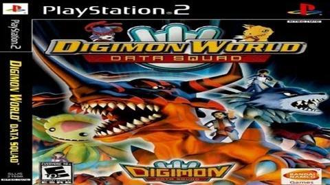 PS2 Digimon World Data Squad - Opening