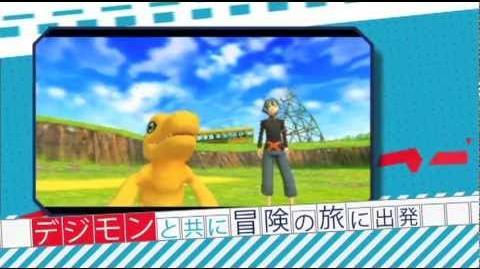 PSP「デジモンワールド リ:デジタイズ」PV