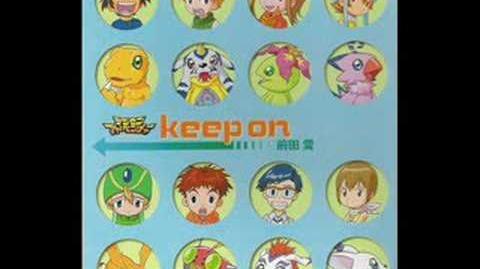 Digimon Adventure - Keep on single