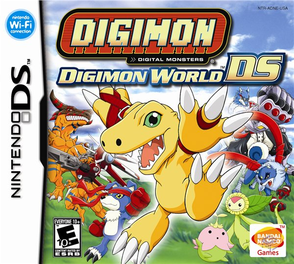 Image result for Digimon world DS