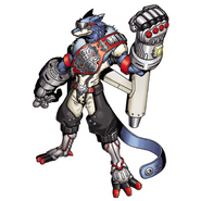 Mach Gaogamon (Digimon Reference Book)