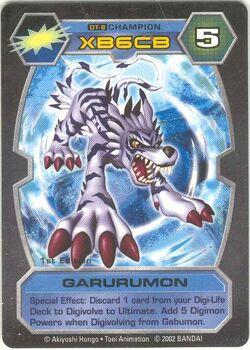 Garurumon DT-8 (DT)