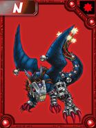 Deathxdorugamon collectors card