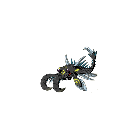 Scorpiomon (Schwarz)