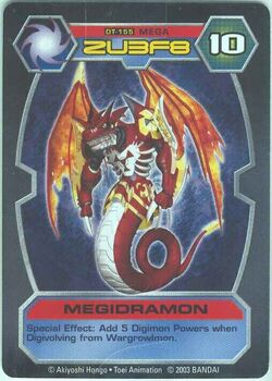 Megidramon DT-155 (DT)