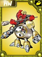 Clockmon collectors card