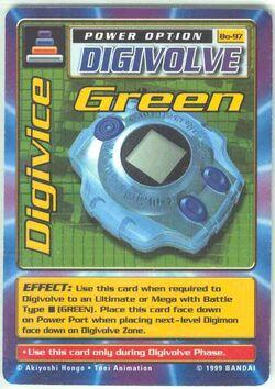 Digivice Green Bo-97 (DB)