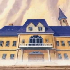 Devimons Villa sieht beeindruckend aus, ist aber nur eine Illusion.