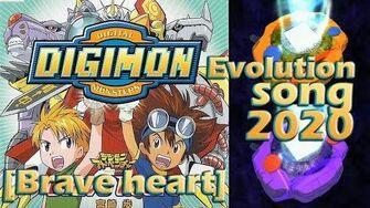 Digimon►Braveheart Evolution Song (2,019)