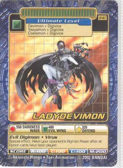 LadyDevimon St-167 (DB)