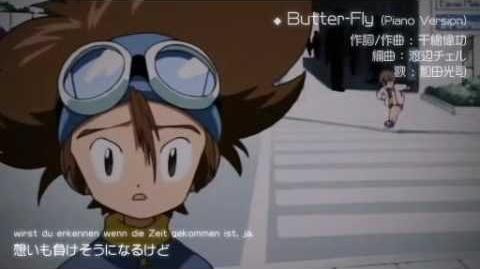 Digimon Adventure - Butter-fly Piano Version-0