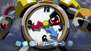 Clockmon usando Chrono Breaker