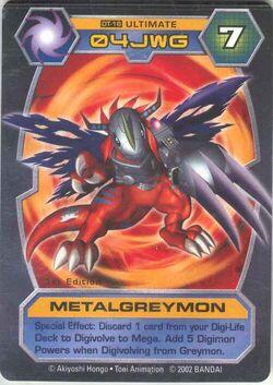 MetalGreymon DT-16 (DT)