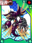 TyrantKabuterimion Forest Collectors Card