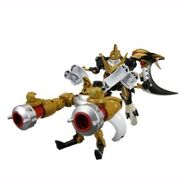 Knightmon buster toy