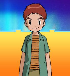 """Koushiro """"Izzy"""" Izumi (02 - Summer) t"""