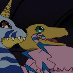 Die Digimon wurden in eine Kiste gesperrt.
