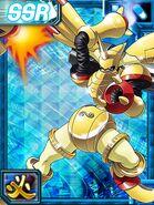 Rapidmon Armor collectors card