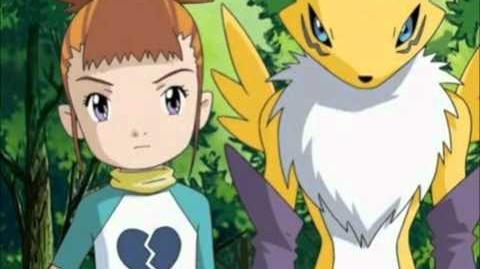 Digimon Tamers - Last Piece Tsuyoku Naritakute - Rika Nonaka y Renamon