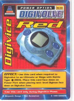 Digivice Red St-59 (DB)